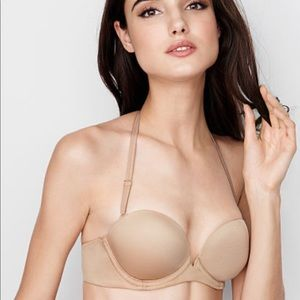 Victoria's Secret Very Sexy Push-Up Bra. Nude 34DD